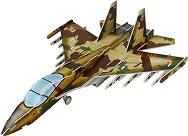 """Изтребител SU-35 - 3D пъзел от колекцията """"Бойни машини"""" -"""