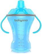 """Неразливаща се чаша с твърд накрайник и дръжки - 260 ml - От серия """"Natural Nursing"""" за бебета над 6 месеца -"""