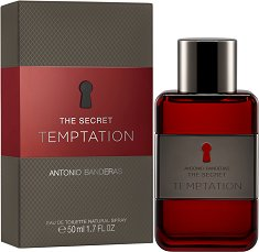 "Antonio Banderas The Secret Temptation EDT - Мъжки парфюм от серията ""Secret"" -"