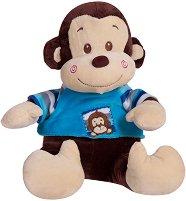 """Маймунка - Разказвач на приказки - Интерактивна плюшена играчка от серията """"Моето приятелче"""" - играчка"""