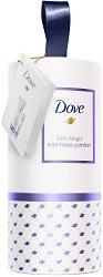 Подаръчен комплект - Dove Skin Magic - Лосион за тяло и крем за ръце -