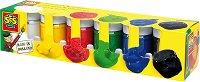 Водни бои - Комплект от 6 цвята
