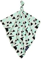 Бамбукова кърпичка - Триъгълници - Размери 30 x 30 cm - аксесоар