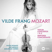 Vilde Frang - Mozart: Violin Concertos Nos 1, 5 & Sinfonia Concertante -