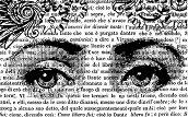 Гумен печат - Женско лице - Размери 7 x 11 cm -