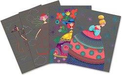 Скреч картини - The Beauty Balls - Творчески комплект - творчески комплект