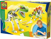 Динозаври - Метален конструктор - играчка