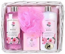 Raphael Rosalee Flowers Wild Rose No.006 - Подаръчен комплект с козметика за тяло с аромат на роза -