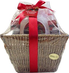 Raphael Rosalee Fruits of The World Strawberry & Papaya No.066 - Подаръчен комплект с козметика за тяло с аромат на ягода и папая - продукт