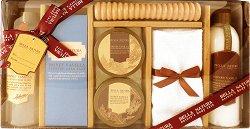 Raphael Rosalee Bella Natura No.081 - Подаръчен комплект с козметика за тяло с аромат на ванилия и мед -