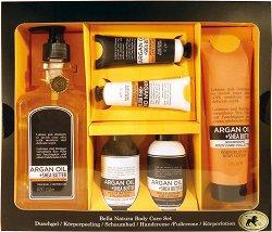 Raphael Rosalee Bella Natura No.100 - Подаръчен комплект с козметика за тяло с арган и ший - продукт
