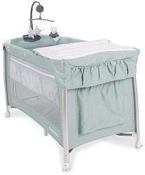 Сгъваемо бебешко легло на две нива - Dessine Moi - Комплект с аксесоари -