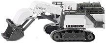 """Верижен багер - Liebherr R9800 - Метална играчка от серията """"Super: Building"""" - играчка"""