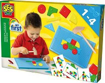 Мозайка с чукче - Творчески комплект - играчка