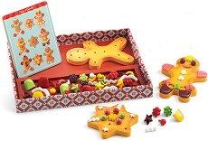Направи сам - Канелени бисквити - Дървен комплект за игра - играчка