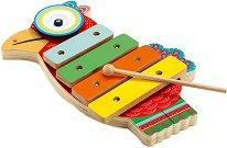 Ксилофон и чинел - Детски музикални инструменти -