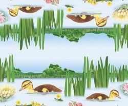 Декупажна хартия - Езеро - Размери 50 x 50 cm