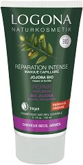 Logona Repair Hair Mask Bio Jojoba - Възстановяваща маска за увредена коса с био масло от жожоба -