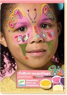Детски гримове и стикери - Пеперуда