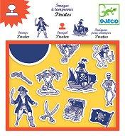 Печати - Пирати - Творчески комплект - играчка