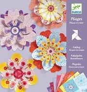 Киригами - Цветя - Творчески комплект - играчка