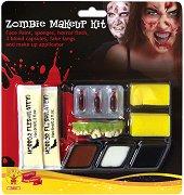 Бои и аксесоари за лице и тяло - Зомби - Комплект от 11 части