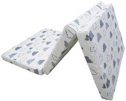 Сгъваем матрак за бебешко креватче - Размер 60 x 120 cm -