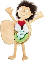 Ервин - малкият пациент - Плюшена образователна играчка -