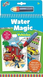 Оцветявай с вода - Превозни средства - Творчески комплект с магически маркер - раница