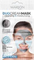 Marion Duo Cream Mask Cleansing & Moisturizing - Мултифункционална почистваща и хидратираща маска за лице -