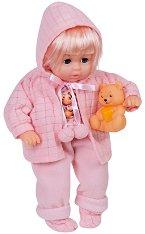 """Музикална кукла с мече - Детска играчка от серията """"Lovely Baby"""" -"""