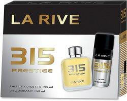 La Rive 315 Prestige - Подаръчен комплект за мъже -