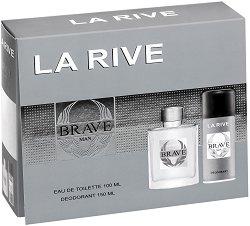 La Rive Brave Man - Подаръчен комплект за мъже -