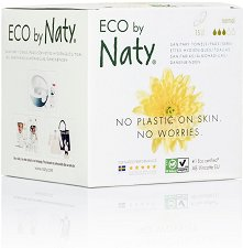 Naty Eco Sanitary Pads Normal - Дамски превръзки в опаковка от 15 броя -