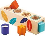 Форми за сортиране - Дървена образователна играчка -