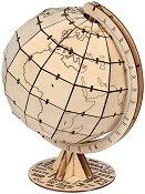 """Глобус - 3D дървен пъзел от серията """"Art & Wood"""" -"""
