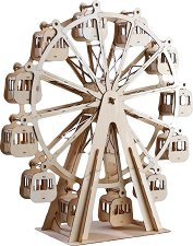 """Виенско колело - 3D дървен пъзел от серията """"Art & Wood"""" -"""