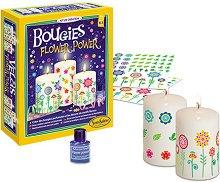 Създай сам - Ароматни свещи - Творчески комплект -