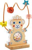 Дрънкалка - Овчица - Дървена играчка -