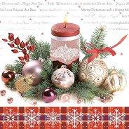 Салфетки за декупаж - Коледна украса - Пакет от 20 броя