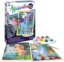 Създай сам фосфоресцираща картина - Еднорог - играчка
