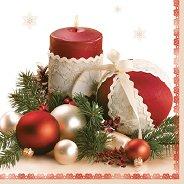 Салфетки за декупаж - Празнична украса - Пакет от 20 броя