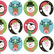 Салфетки за декупаж - Коледни създания - Пакет от 20 броя
