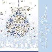 Салфетки за декупаж - Коледно вълшебство - Пакет от 20 броя