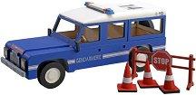 """Полицейски патрул - Дървен детски сглобяем модел от серията """"Junior Collection"""" -"""
