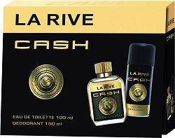 La Rive Cash For Men - Подаръчен комплект за мъже -