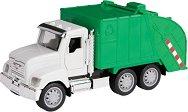 Боклукчийски камион със звуков и светлинен ефект - играчка