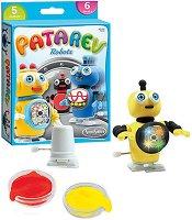 Моделирай с цветен клей - Роботи - Творчески комплект - играчка