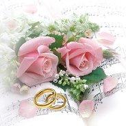 Салфетки за декупаж - Рози и халки - Пакет от 20 броя