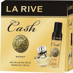 La Rive Cash Woman - Подаръчен комплект с парфюм и дезодорант - продукт